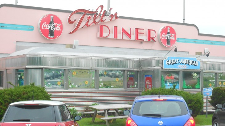 Mark Dolabany visits Tiltin Diner in New Hampshire