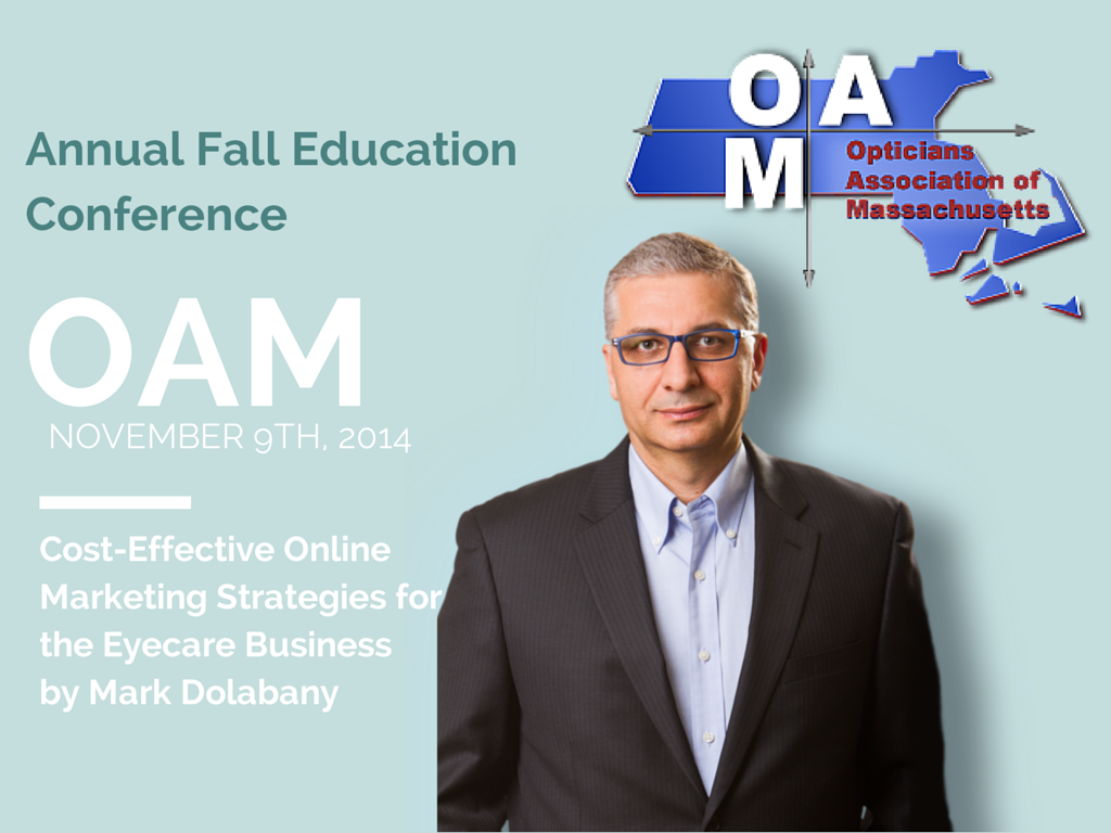75f7ebf8def Mark Dolabany will be speaking at the Opticians Association of ...