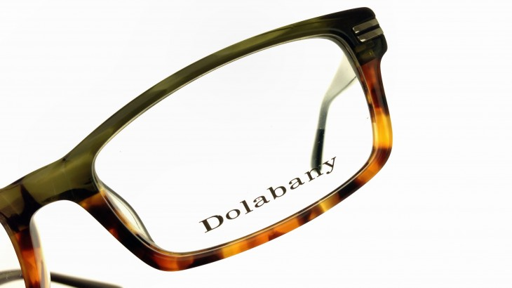 Dolabany Eyewear Hugo Green Demi Detail 1