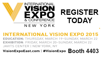 Vision Expo East 2015 Booth 4403