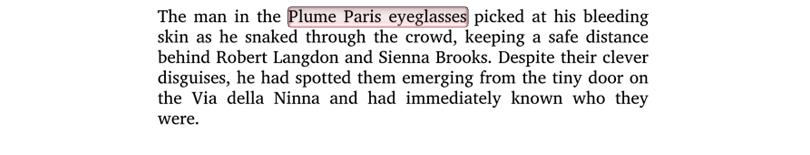 Inferno by Dan Brown Plume Paris Exerpt 2