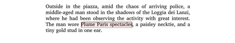 Inferno by Dan Brown Plume Paris Exerpt